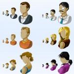 PNG iconos de gente