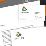 Descarga GRATIS este Pack de identidad corporativa editable en Photoshop 300dpi incluye logotipo y documentos membretados