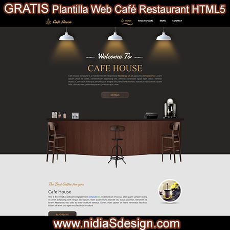 Como armar una pagina web para cafe restaurant