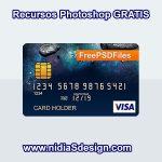 Plantilla de Tarjeta de Crédito en formato .PSD Photoshop