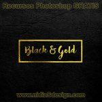 Este es un bello Mockup con logotipo en oro sobre cuero negro, es una plantilla en archivo .PSD editable en Photoshop, por lo que puedes sustituir el texto que actualmente tiene el template y colocar tu logo en letras doradas o imagen sobre cuero en color negro.
