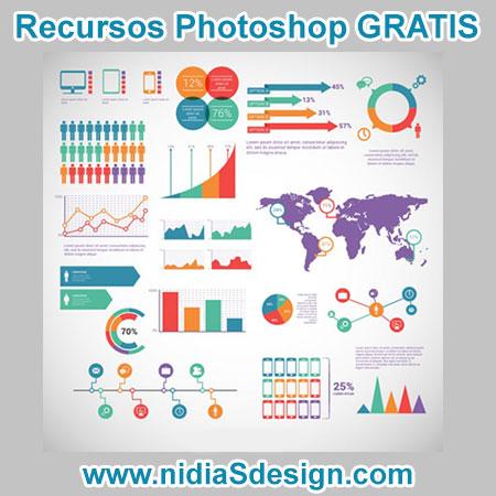 AI VECTOR GRATIS: Pack de elementos para infografía editable en ...