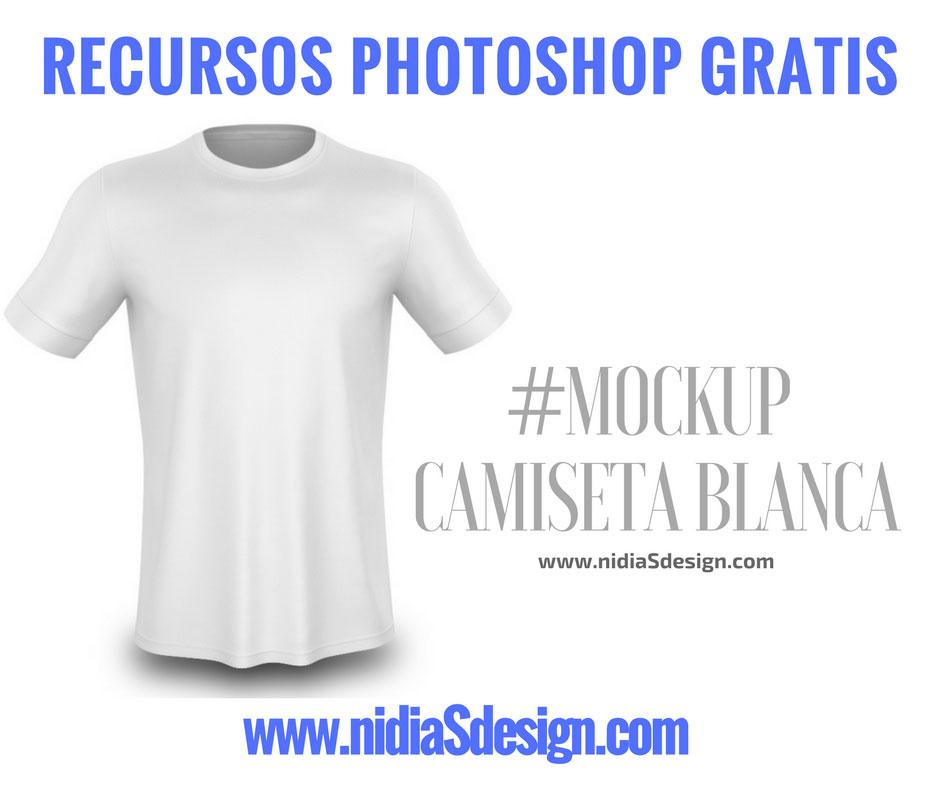 PSD GRATIS: #MOCKUP t-shirt camiseta blanca tipo polo para template ...
